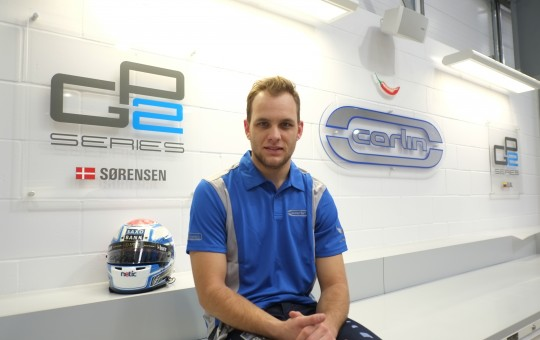 Marco Sørensen Lotus F1 reserve driver joins Carlin GP2 Team